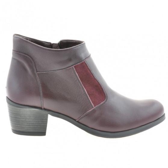 Women boots 3267 bordo