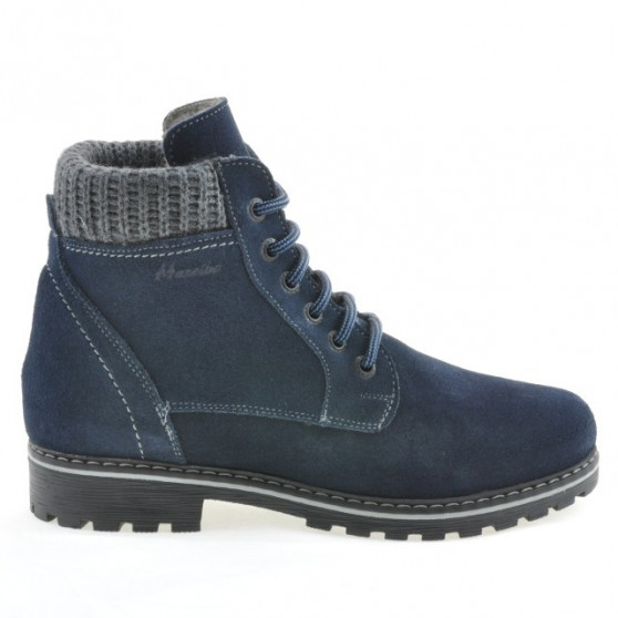 Women boots 3269 indigo velour