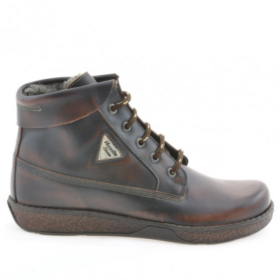Women boots 3251 a brown