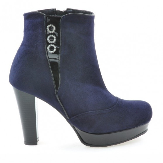 Women boots 1138 indigo antilopa combined