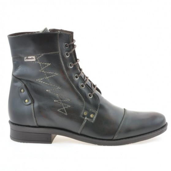 Men boots 418 a brown