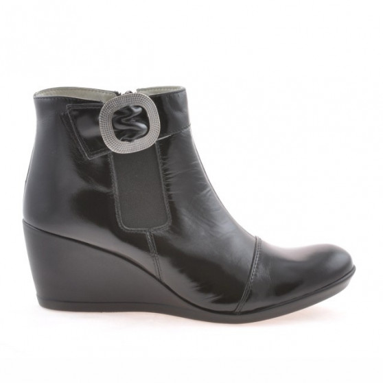 Women boots 238 patent black