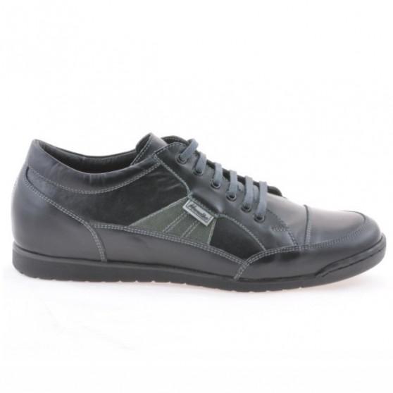Men sport shoes 716 black+gray