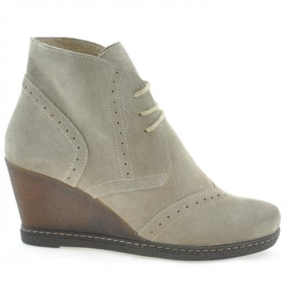 Women boots 3230-1 sand velour