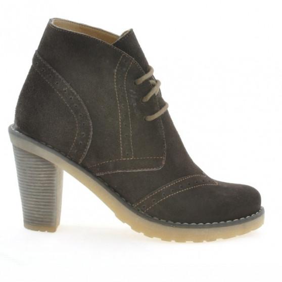 Women boots 3230 cafe velour