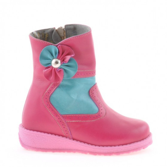 Small children boots 20c pink combined