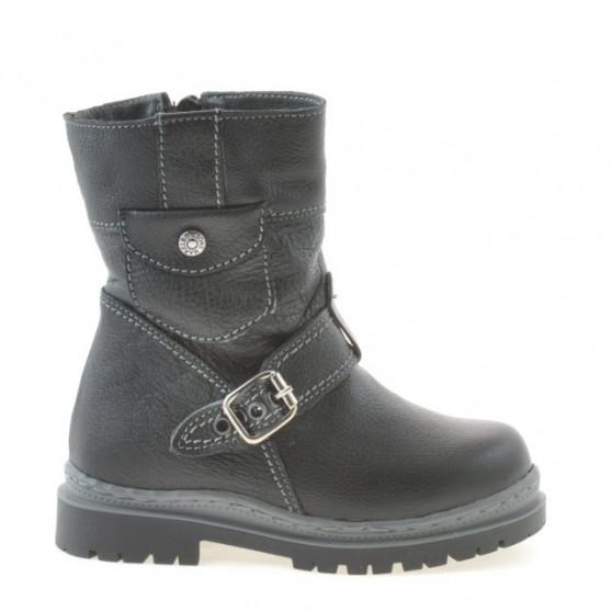 Small children boots 22c black