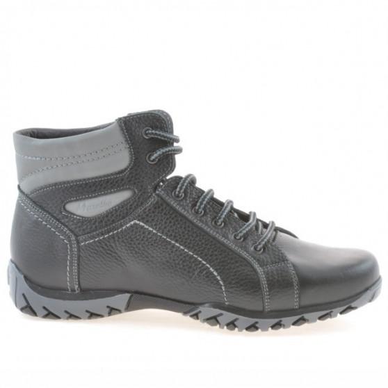 Men boots 460 black+gray