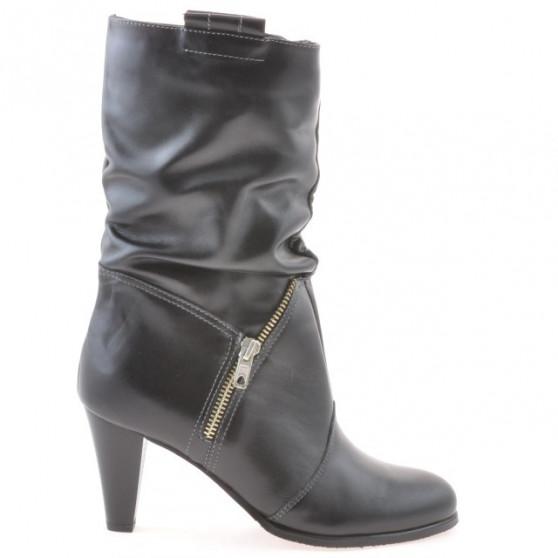 Women knee boots 1117 black