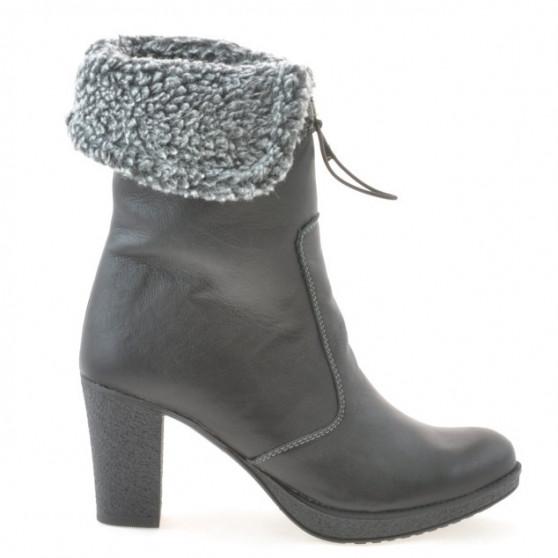 Women knee boots 3266 black