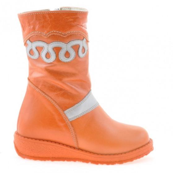 Small children knee boots 23c orange