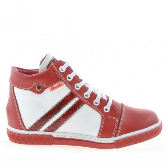 Children boots 3213 red+white