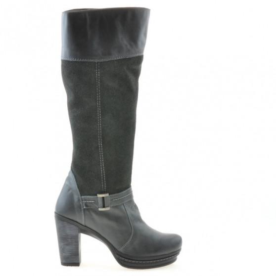 Women knee boots 3234 antracit