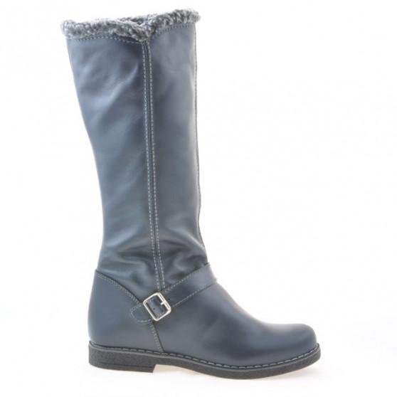 Women knee boots 3248 indigo