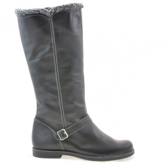 Women knee boots 3248 black