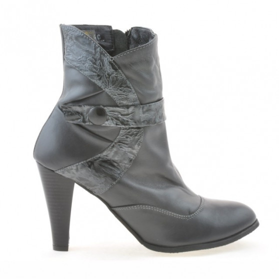 Women boots 1112 gray combined