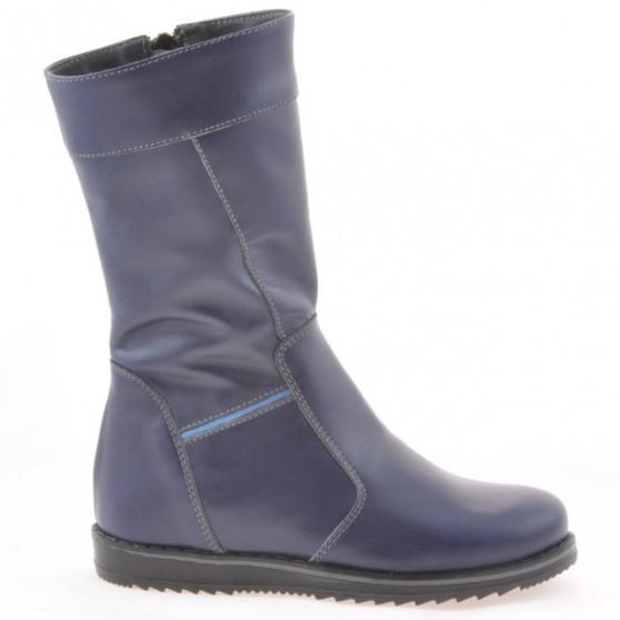 Children knee boots 3212 indigo