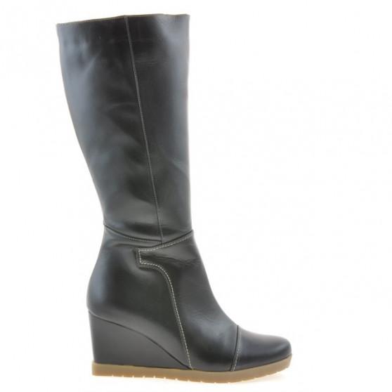 Women knee boots 1152 black