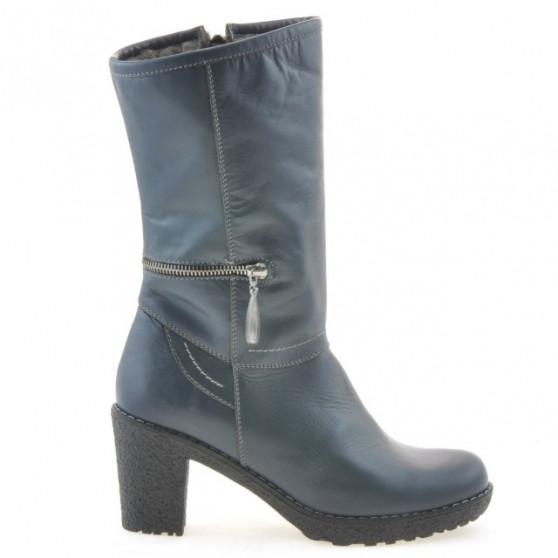 Women knee boots 3256 indigo