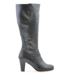 Women knee boots 1151 black