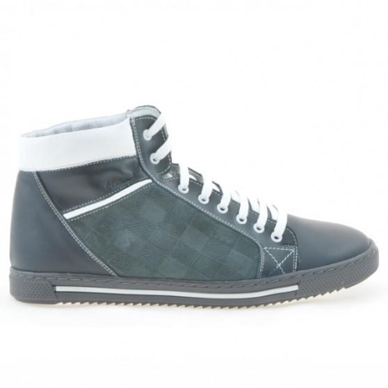 Men boots 467 gray+white