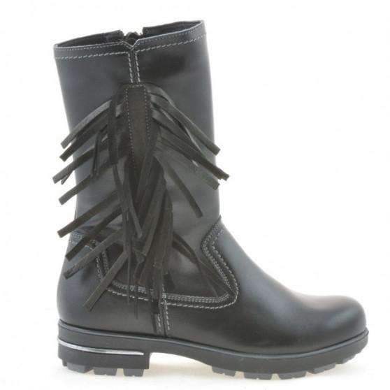 Children knee boots 3208 black