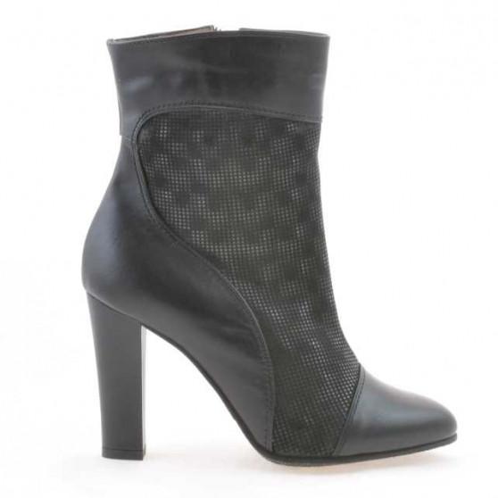 Women boots 1146 black+black pearl