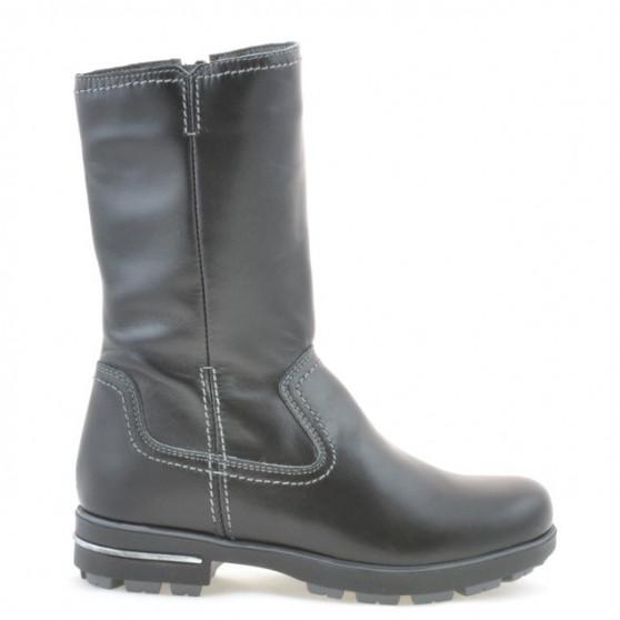 Children knee boots 3210 black