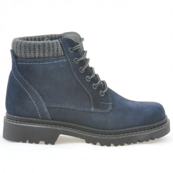 Men boots 471 indigo velour