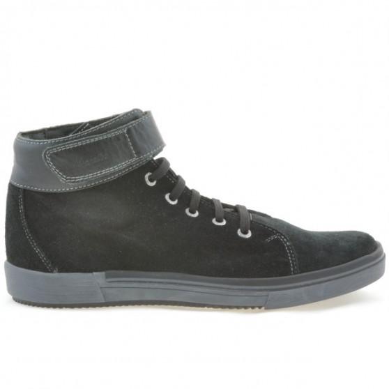 Men boots 411 black velour