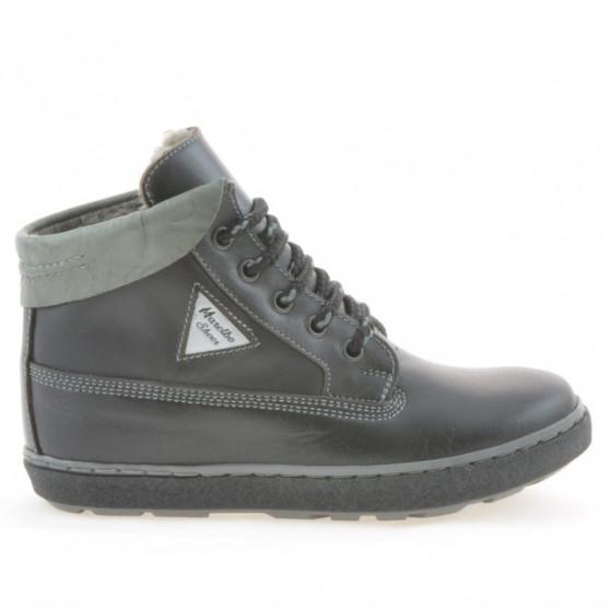 Children boots 3206 black+gray