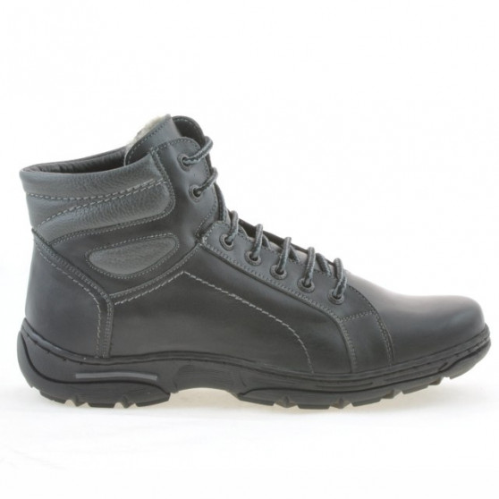 Teenagers boots 461 black+gray