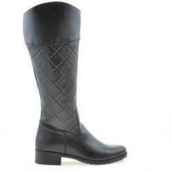 Women knee boots 3293 black