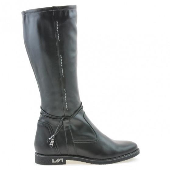 Women knee boots 3276 black