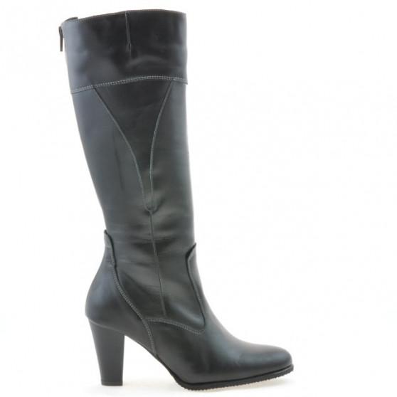 Women knee boots 1141 black
