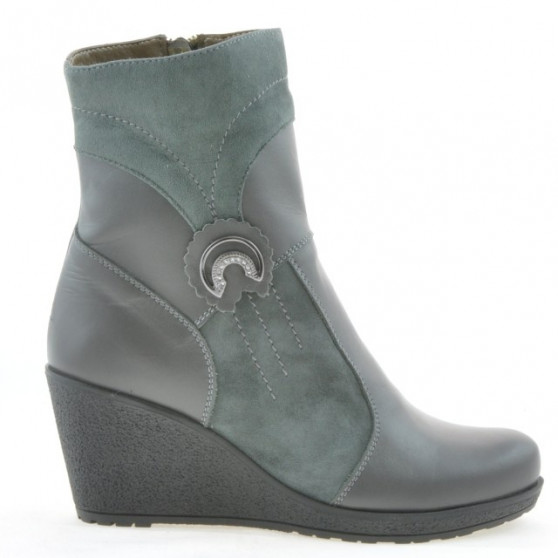 Women boots 3220 gray combined