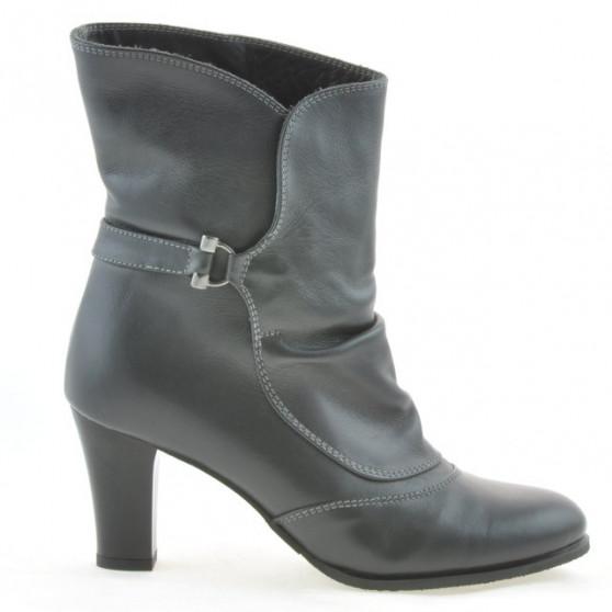 Women boots 1116 gray