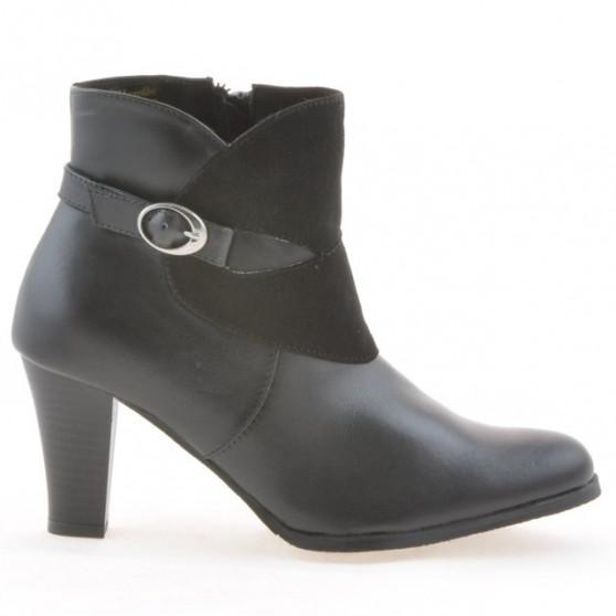 Women boots 1124 black+black antilopa