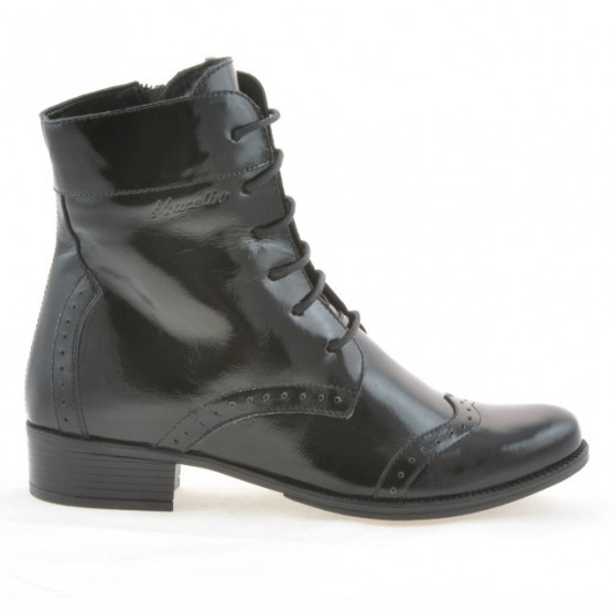 Women boots 291 patent black