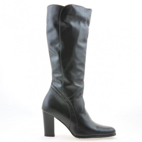 Women knee boots 1128 black