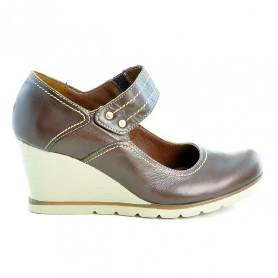 Women casual shoes 199 chocolate