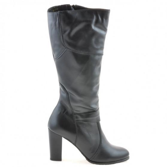 Women knee boots 1129 black