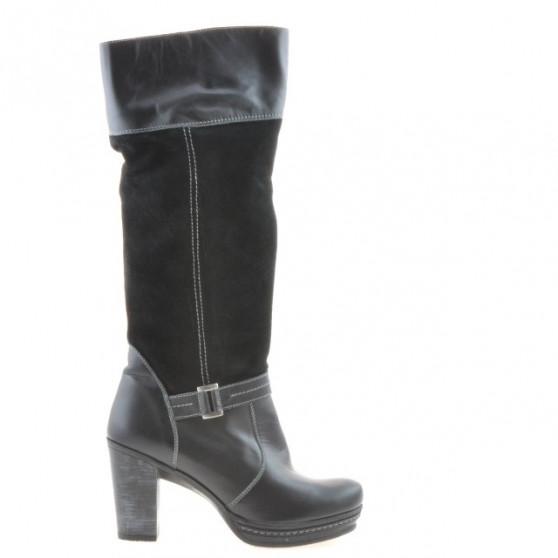 Women knee boots 3234 black