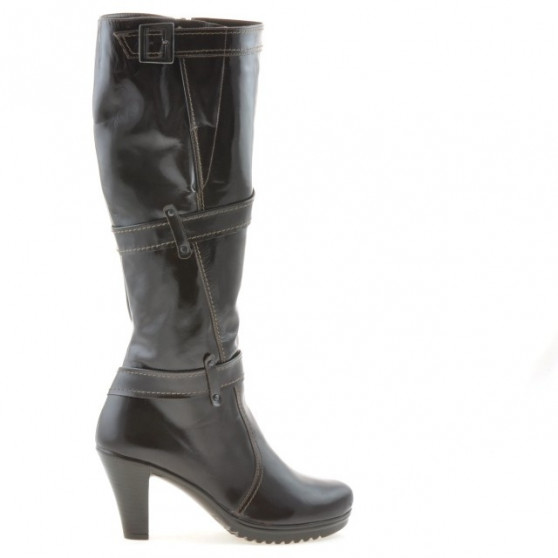 Women knee boots 229 patent cafe