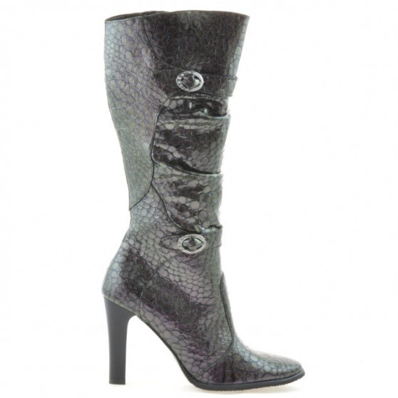 Women knee boots 008-2 cameleon