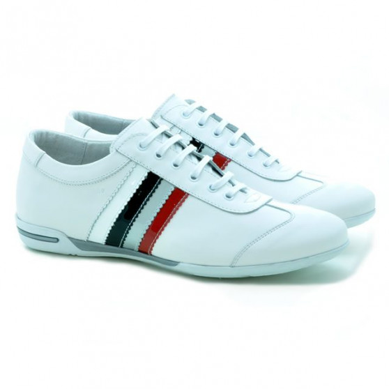 Men sport shoes 704 white