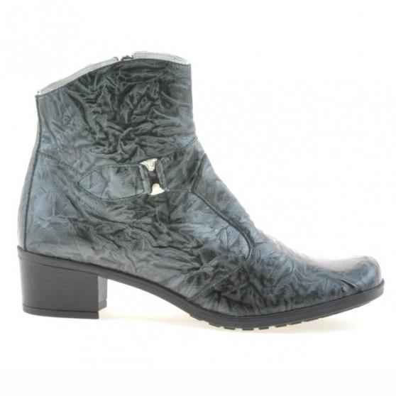 Women boots 232 crep patent gray