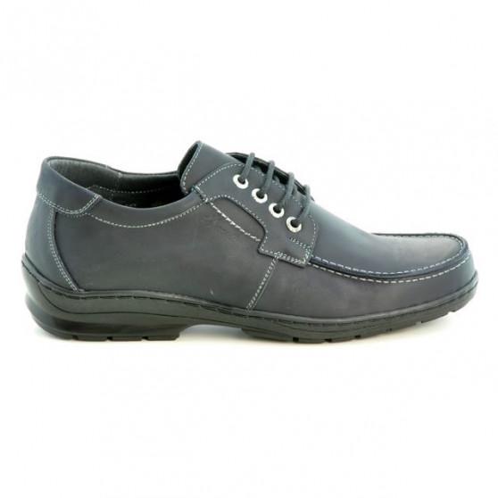 Pantofi casual barbati 724 tuxon negru
