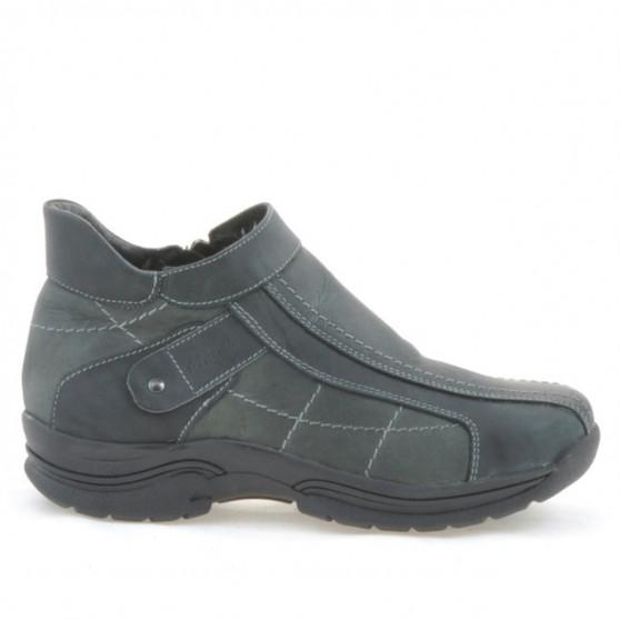 Teenagers boots 441 tuxon black+gray