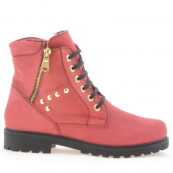 Women boots 3292 red